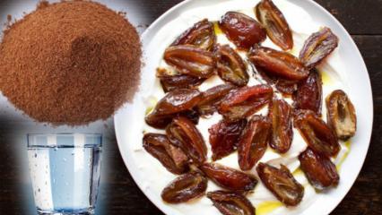 Hurmayla diyet nasıl yapılır? Hurma suyu ve tozu ile mucize zayıflama formülü