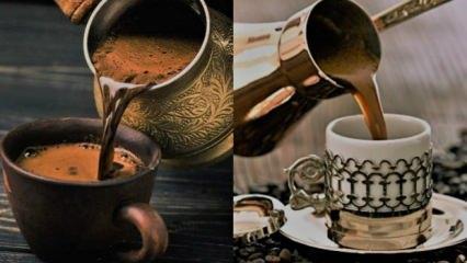 Türk kahvesi içerek zayıflama! Diyet yapmanın en keyifli hali: Zahmete girmeden kilo verme