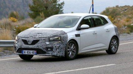 2020 Renault Megane görüldü! Yakıtta çığır açacak!
