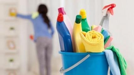 Pratik ev temizliği nasıl yapılır?
