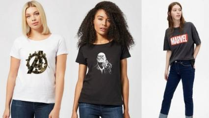 Marvel yeni sezon t shirt ve sweatshirt modelleri
