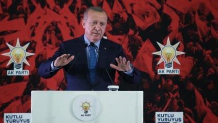 Erdoğan: Vakti geldiğinde hepsini açıklayacağız