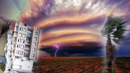 Deprem ve fırtına gibi doğal afetlerden korunmak için dualar! Deprem olurken okunacak dua