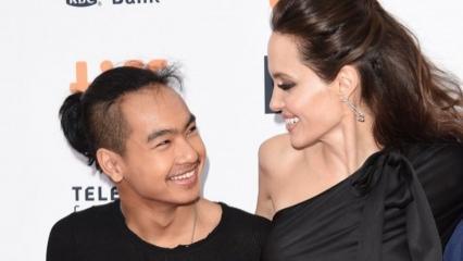 Angelina Jolie'den oğlu Maddox'a veda!