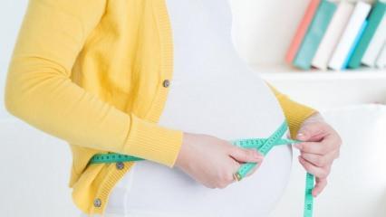 Hamilelikte en fazla kaç kilo alınmalı? Hamilelikte kilo ne zaman alınır? Aşırı kilo alımı...