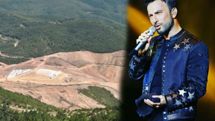 Kaz Dağları'ndan villa sahibi olan Tarkan Kaz Dağları için şarkı yaptı