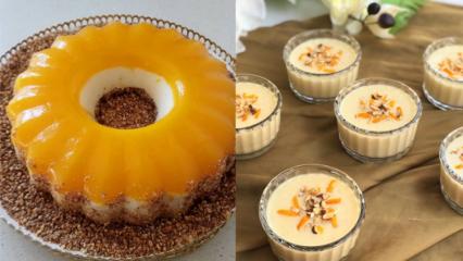 En kolay portakallı irmik tatlısı nasıl yapılır? Portakallı irmik tatlısı tarifi