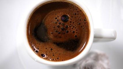 Türk kahvesinin faydaları neler? Bir yararı daha ortaya çıktı