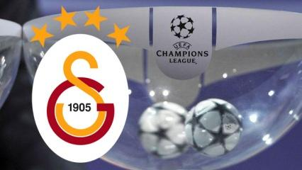 Galatasaray'ın Şampiyonlar Ligi kura çekimi saat kaçta hangi kanalda olacak?