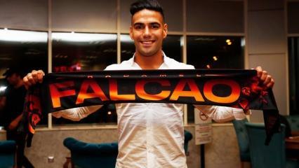 Radamel Falcao İstanbul'a geldi!