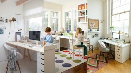 Evden çalışırken daha aktif olmanızı sağlayacak dekorasyon önerileri