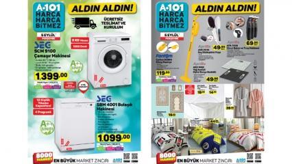 A101 6 Eylül indirimli aktüel kataloğu! Elektronik ürünlerde kampanya...