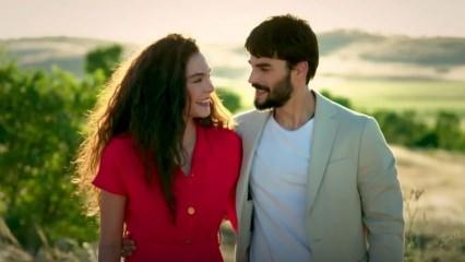 Ebru Şahin'den renkli paylaşım! Hercai'nin Reyyan'ı rekor kırdı...