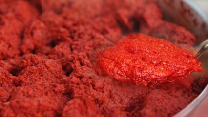 Evde en kolay salça nasıl yapılır? Canan Karatay'dan en sağlıklı salça tarifi