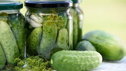 Evde salatalık turşusu nasıl yapılır? Turşu yapmanın püf noktaları