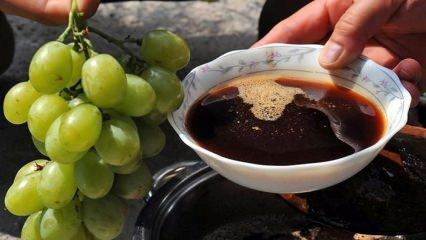 Evde üzüm pekmezi nasıl yapılır ve üzüm pekmezinin faydaları neler? Pekmezin püf noktaları