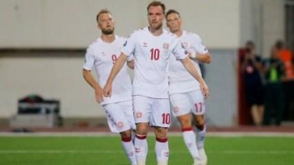 F.Bahçeli Zanka oynadı, Danimarka gol yağdırdı!