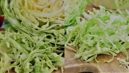 Haşlanmış Lahana suyu ile süper zayıflama | En popüler Lahana kürü diyeti!