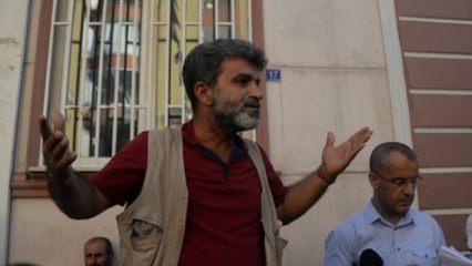 HDP'li baba da dağa kaçırılan oğlu için eyleme katıldı!