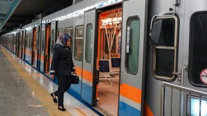 Tüm metro hatları 01:30'a kadar uzatıldı!