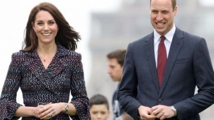 Prince William ile Kate Middleton yürüyerek çocuklarını okula bıraktı!