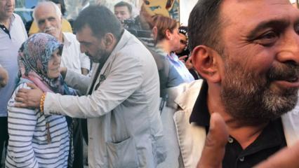 Oyuncu Ahmet Yenilmez direnen anneleri ziyaret etti!
