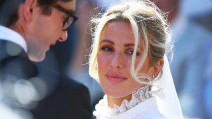 Ellie Goulding düşman çatlatıyor! Prensesler gibi evlendi!
