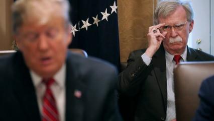 Trump: Bolton beni 2 ülke konusunda engelliyordu