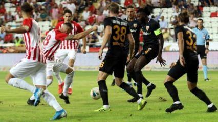 Antalya kaçtı Kayseri yakaladı! 4 gollü düello...