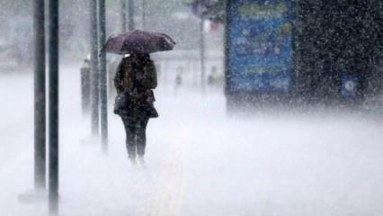 Meteoroloji uyarmıştı, beklenen oldu...