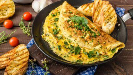 Sütlü yumurta nasıl yapılır?