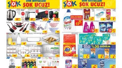 19 Eylül ŞOK aktüel ürünler kataloğu: ŞOK marketlerinde indirim başladı!