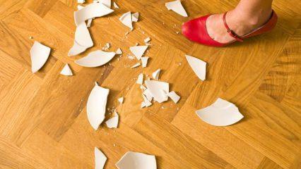 Cam kırığı nasıl temizlenir?