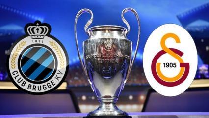 Şampiyonlar Ligi Club Brugge Galatasaray maçının özeti