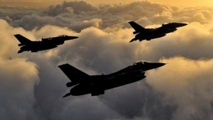 Savaş uçakları Zap bölgesini vurdu! PKK'ya darbe üstüne darbe