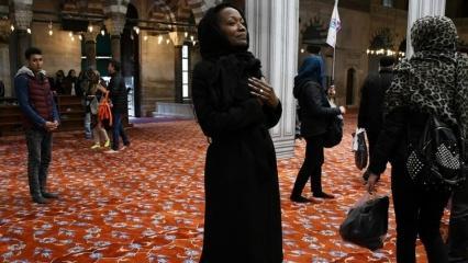 ABD'li sanatçı Miles: Türkiye'de yaşamaktan mutluyum