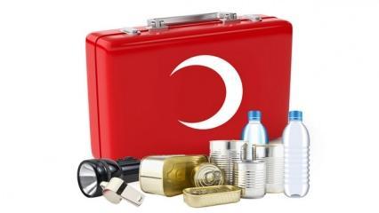 Deprem çantasının içerisinde neler olmalı? Deprem çantası nasıl hazırlanır?