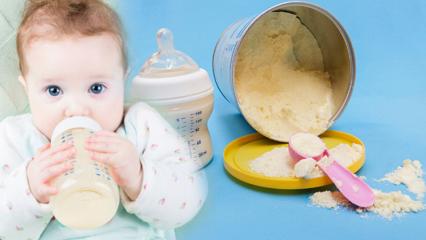 Hazır mama nasıl yapılır? Biberonda kalan mama tekrar verilir mi? Evde mama suyu yapımı