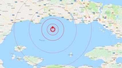 İstanbul'da deprem! Yine sallandık!