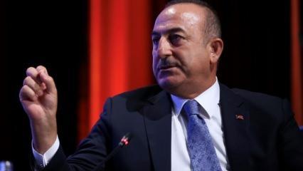 Rum Bakan BM'de hadsizlik yapınca Çavuşoğlu ayarı verdi!