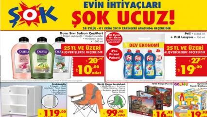 ŞOK Aktüel 30 Eylül kataloğu: Hafta başına özel indirimli ürünler...