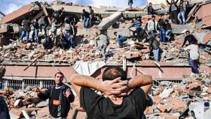 Türkiye'de son 100 yılda meydana gelen depremler