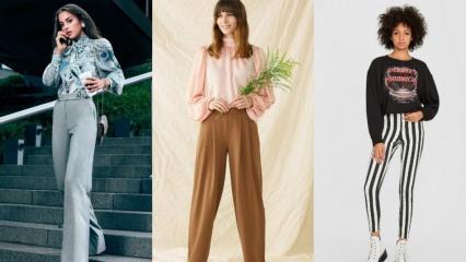 2019 sonbahar pantolon modası