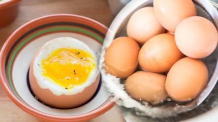 Az haşlanmış yumurtanın faydaları nelerdir? Günde iki tane haşlanmış yumurta yerseniz...