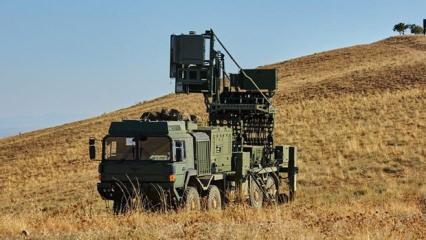Barış Pınarı harekatında kullanılan Koral Mobil Radar Eh Sistemi nedir?