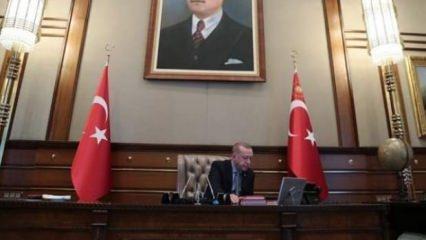İşte Erdoğan'ın operasyon emrini verdiği o an