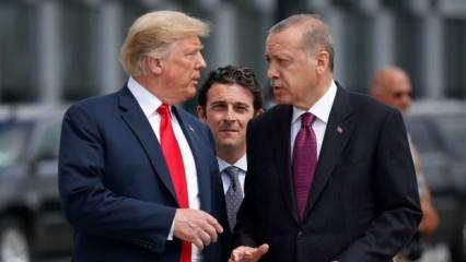 'Saçma' deyip ilan etti! Trump'tan Fırat'ın doğusu açıklaması
