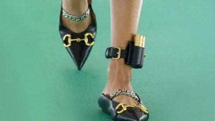 Gucci'den tepki çeken elektronik kelepçeli ayakkabı