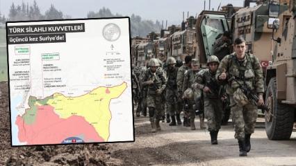 Harekat başladı: Türk Silahlı Kuvvetleri üçüncü kez Suriye'de