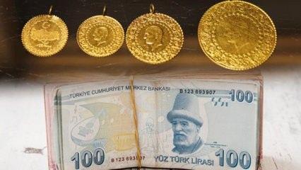 16 Ekim altın fiyatları düşüşe geçti: Gram altın ve çeyrek altın bugün kaç TL oldu?